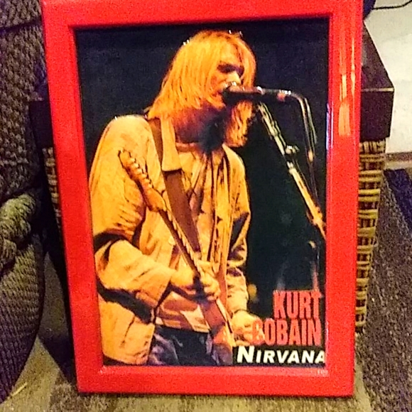 Kurt Cobain Nirvana picture